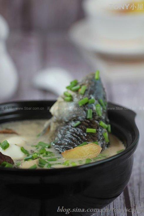 養生鯽魚湯