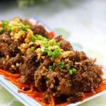 咖喱粉蒸肉(荤菜菜谱)