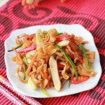 酸辣鴨腸(葷菜菜譜-在家如何清洗新鮮鴨腸)