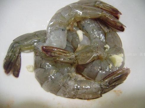 培根大虾卷