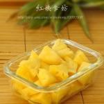 2分钟快速切菠萝(生活窍门菜谱)