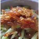 凉拌海蜇头(冷盘菜谱-一个小窍门让海蜇头变的又松又脆)