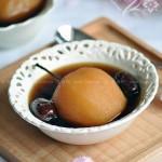 红糖大枣炖雪梨(女人必备的祛斑美容养生佳品菜谱)