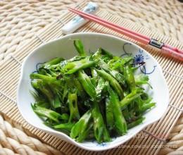 清炒四角豆