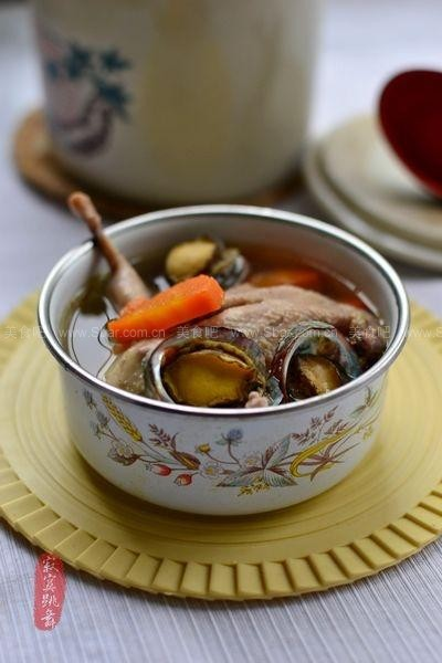 食疗炖排骨(绿豆家庭鹌鹑-健脑养神越吃越聪明)鲍鱼菜谱米粥图片