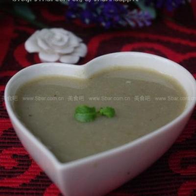 银耳百合绿豆浆