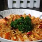 避風塘炒蝦(海鮮菜譜)