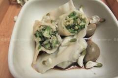 槐花饺子馅的做法