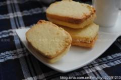 椰香奶油奶酪夹心酥饼