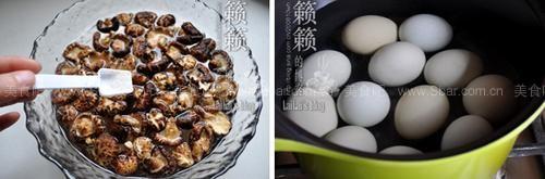 酒糟花菇&土鸡蛋