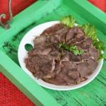卤牛肉(私房秘籍食谱)