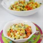 经典蔬菜沙拉(几分钟就可以搞定的夏日美食食谱)