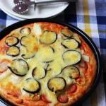 茄子海鲜披萨(烘培食谱)