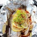 柠檬烤鲈鱼(夏日清爽无油烟菜谱)