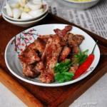 香煎梅花肉(平底锅菜谱)