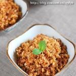 肉燥蒸飯(早餐菜譜)