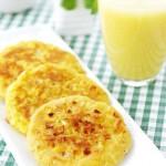 鲜甜玉米饼(早餐菜谱)