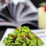 香葱爆蚕豆(考生菜谱-高考生不可错过的增强记忆素菜)