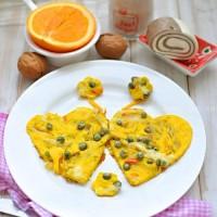 愛心蔬菜蛋餅