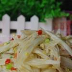 酸辣藕带(素菜菜谱)