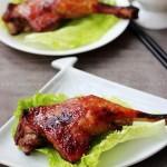 蜜汁酱烤鸭腿(烤箱菜谱)