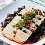 豆豉辣豆腐(清蒸菜谱)