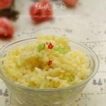 3分钟蛋炒饭(早餐菜谱)