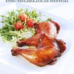 葱香蜜汁烤鸡腿(烤箱菜谱)