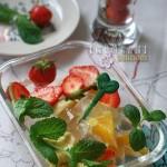 冰粉水果杯(夏季菜谱)