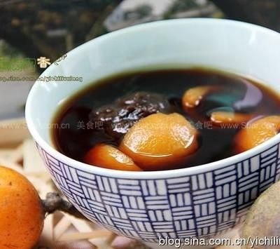 罗汉果枇杷汤