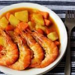 黄金咖喱虾(海鲜菜谱)