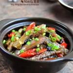 豆豉鲮鱼茄子煲(荤素搭配菜谱)