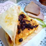 烙饼卷鸡蛋(早餐菜谱)