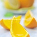 橙子果冻(零食菜谱)