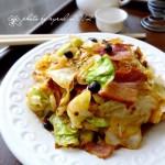 香辣培根圆白菜(5分钟快手小炒菜谱)