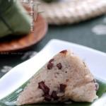 红豆红枣粽(端午节菜谱-包粽子图解)