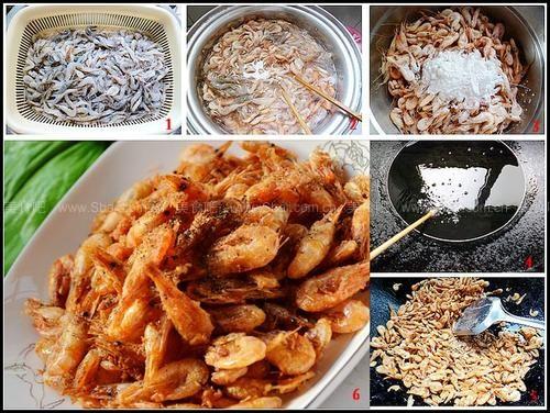 椒盐炸河虾