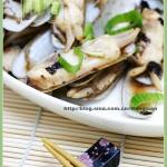 葱姜蛏子(海鲜菜谱)