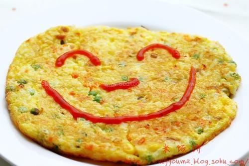米饭饼的做法【图解】_米饭饼的家常做法_米饭饼怎么