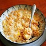 泡菜焗饭(一个人午餐菜谱)