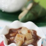 红豆粽子汤+水果粽子串(端午节菜谱-端午粽子吃法)