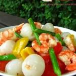 荔枝虾仁(海鲜菜谱)