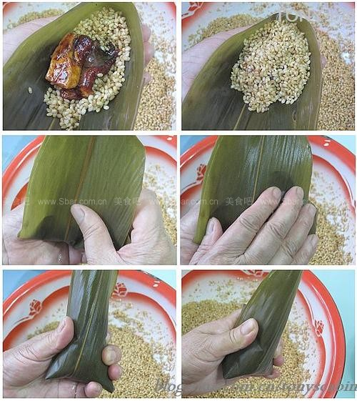大肉粽和养生粽子