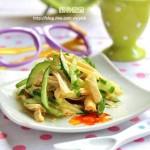 腐竹拌黄瓜(适合孩子吃的凉拌菜谱)