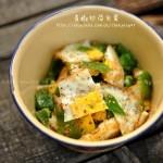 青椒炒荷包蛋(荤菜菜谱)