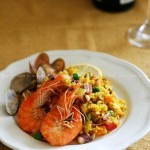咖喱海鲜饭(一个人午餐晚餐菜谱)