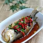 豉椒鲜蒸大黄鱼(清蒸菜谱)