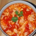 番茄酱西红柿蛋花汤(夏季开胃菜谱)