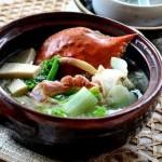 螃蟹白菜炖豆腐(海鲜菜谱)