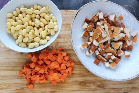 双色皮冻和豆儿酱